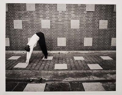 Johanna Jaeger, 'Without Title (floor, wall, tiles, the artist)', 2012