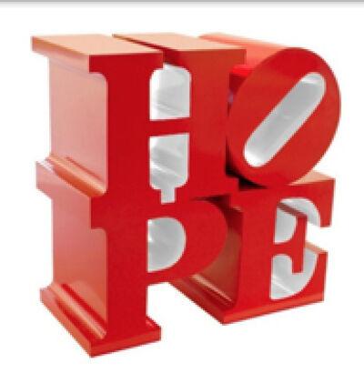 Robert Indiana, 'HOPE (Red/White)', 2009