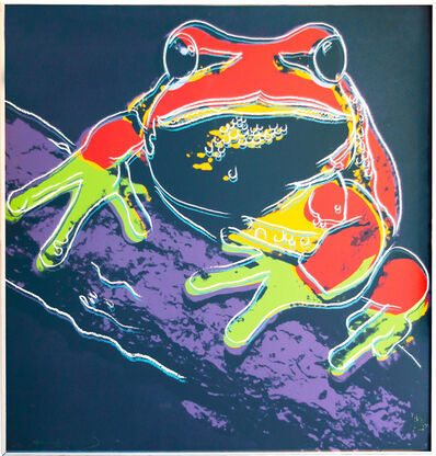 Andy Warhol, 'Pine Barrens Tree Frog'