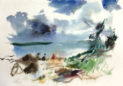 Raoul Middleman, 'At the Beach', 2014