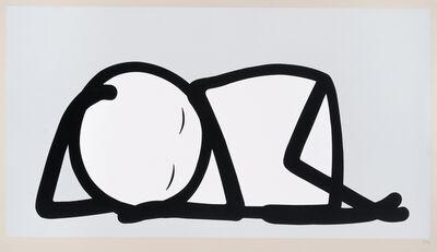 Stik, 'Silver Sleeping Baby', 2015