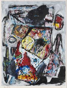 Jacques Doucet, 'Eté à Saint Christol', 1991