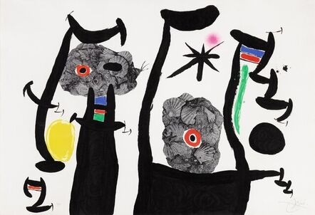 Joan Miró, 'Les Coquillages', 1969