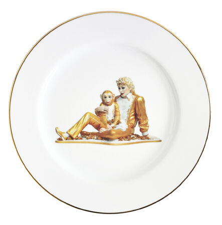 Jeff Koons, 'Banality Series (Service Plate), Michael Jackson and Bubbles)', 2014