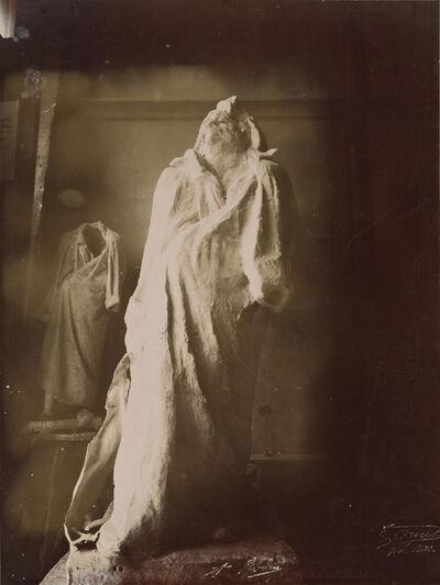 Eugène Druet, 'Balzac dans l'atelier du Dépôt des marbres (Balzac in the Dépôt des marbres studio)', 1898