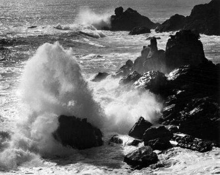 Ansel Adams, 'Storm Surf, Timber Cove', 1960