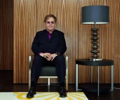 Rineke Dijkstra, 'Sir Elton John, from the Elton John AIDS Foundation Portfolio ', 2011