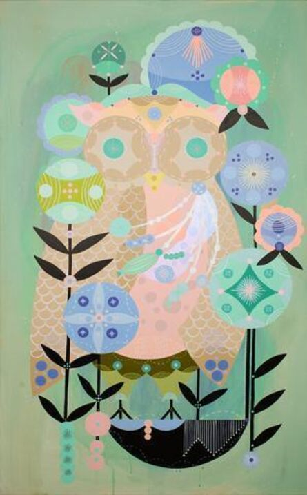Bunnie Reiss, 'The All-Seeing Owl', 2017