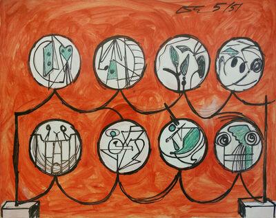 David Smith (1906-1965), 'Untitled', 1951