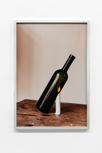 Ariel Schlesinger, 'Three commas club (Wine bottle)', 2019