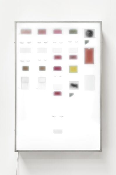 Gabriel Kuri, 'Inverted lightbox V03', 2014
