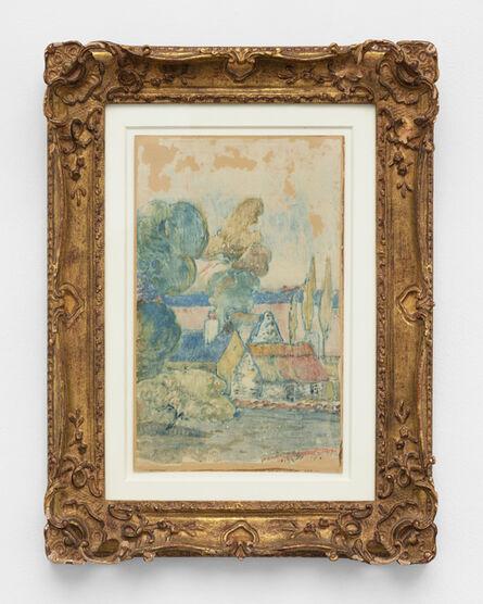 Paul Gauguin, 'Les Chaumières', 1894