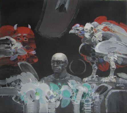 Alejandro Obregón, 'Elegía a Picasso ', 1988