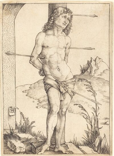 Albrecht Dürer, 'Saint Sebastian Bound to the Column', probably 1498/1499
