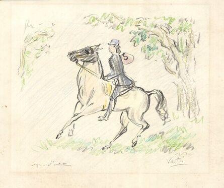 Marcel Vertès, 'La Course Equestre', 1970