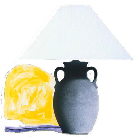 John Baldessari, 'Table Lamp and its Shadow F & L', 1994