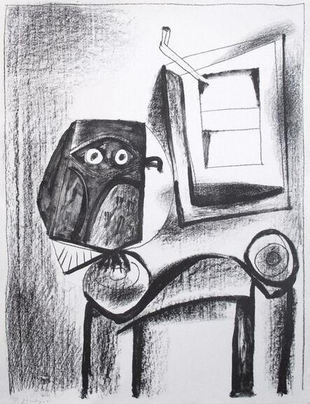 Pablo Picasso, 'The Black Owl', 1947