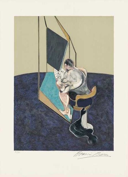 Francis Bacon, 'Study of the Male Back', 1987
