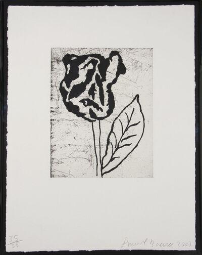 Donald Baechler, 'Flower II', 2007