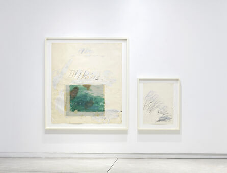 Cy Twombly, 'Thyrsis', 1976