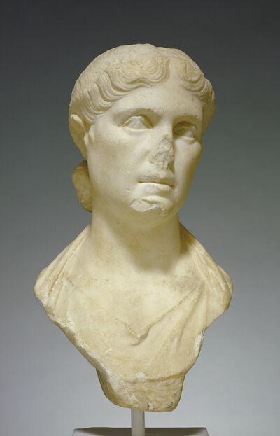 'Portrait Bust of a Woman, possibly Octavia Minor',  20 -10 B.C.