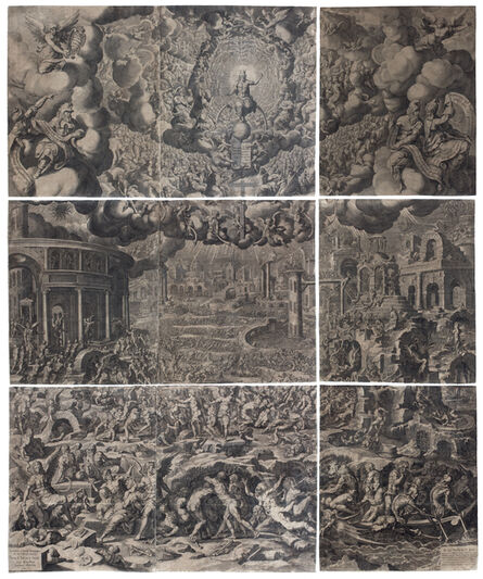 PIETER DE JODE I, 'The Last Judgment. After J. Cousin the Younger', ca. 1600-1615