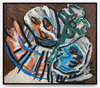 Karel Appel, 'Le dernier adieu ', 1981
