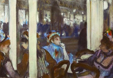Edgar Degas, 'Femmes à la terrasse d'un café le soir  (Women on the Terrace of a Coffeehouse)', 1877