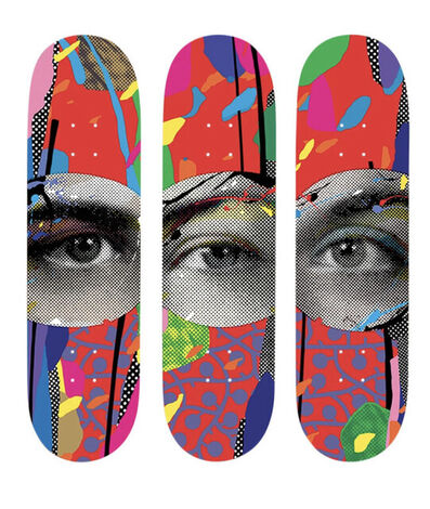 Paul Insect, 'Paul Insect I SEE 1,2,3 (First Edition) Skateboard Deck Set 3 Street Contemporary Art ', 2020
