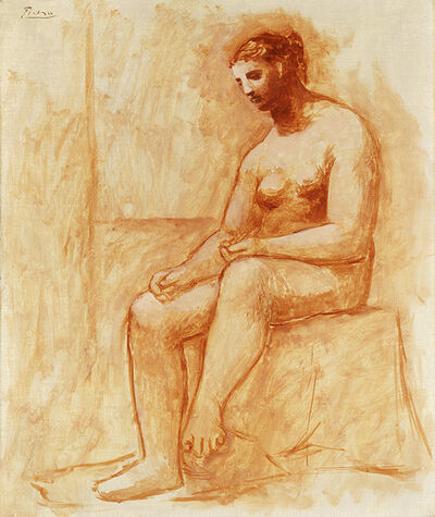 Pablo Picasso, 'Seated Nude', 1922