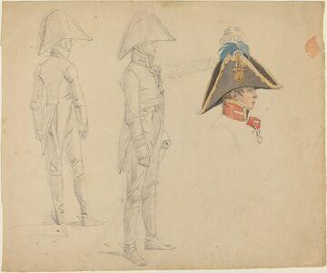 Wilhelm von Kobell, 'Studies of Major von Washington'