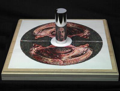 Chuck Close, 'Self-Portrait (anamorphic)', 2009