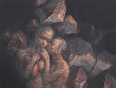"""Nurettin Erkan, '""""STONES, WOMEN, ASHES"""" - VIII', 2013"""