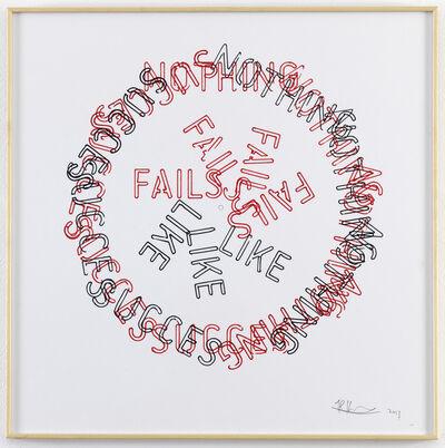Job Koelewijn, 'Untitled [Nothing Fails Like Succes]', 2017
