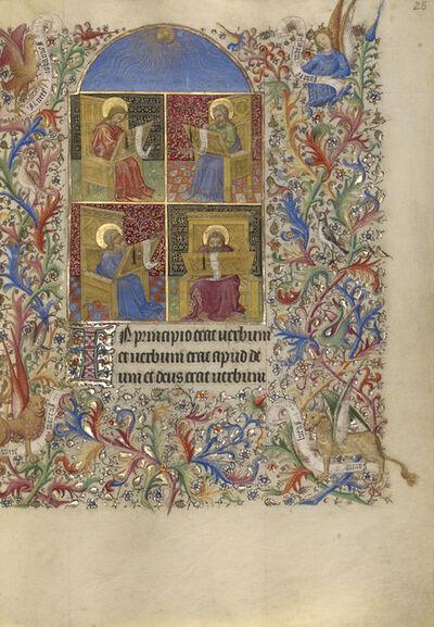 Spitz Master, 'The Four Evangelists', 1420