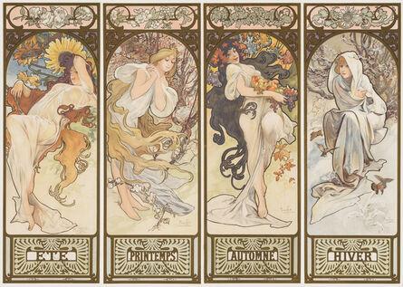 Alphonse Mucha, 'The Seasons', 1897