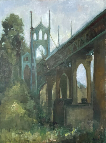 Stacy Kamin, 'St. John's Bridge', 2021