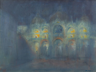 Adam Van Doren, 'San Marco in Moonlight', 2009