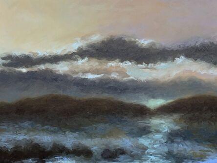 Kirby Fredendall, 'Moonlight on Fulton Lake ', 2018