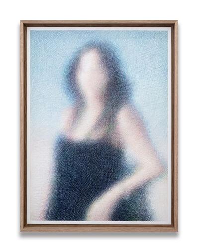 Slawomir Elsner, 'Portrait of a Young Lady (Penélope Cruz)', 2020