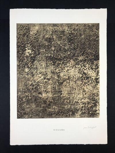 Jean Dubuffet, 'Untitled from phénomenes portfolio', 1960