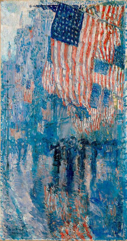 Childe Hassam, 'The Avenue in the Rain', 1917