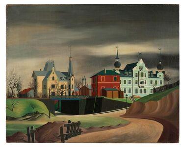 Carl Grossberg, 'Kitzingen, Unterführung', 1925