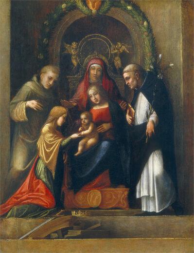 Correggio, 'The Mystic Marriage of Saint Catherine', 1510/1515