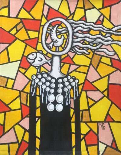 Ko Z, 'Red Peace #1', 2016