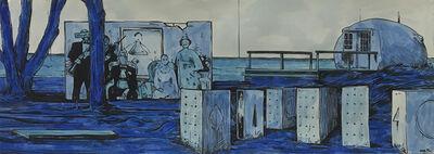 William Buchina, 'Scenery in Blue #13', 2021