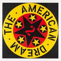 Robert Indiana, 'The American Dream No. 2', 1982