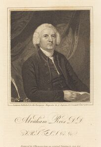 James Thomson after John Opie, 'Abraham Rees, D.D.', published 1820