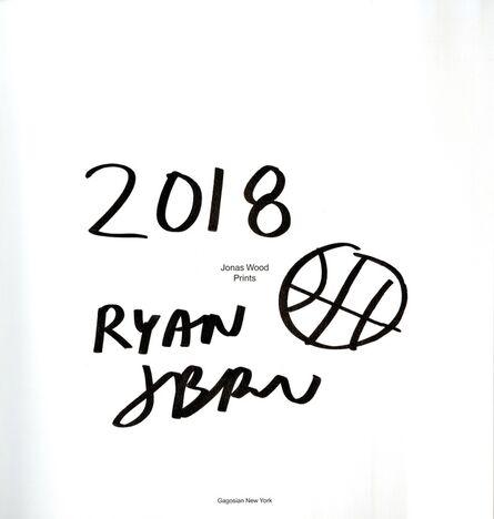 Jonas Wood, 'Original baseball drawing ', 2018