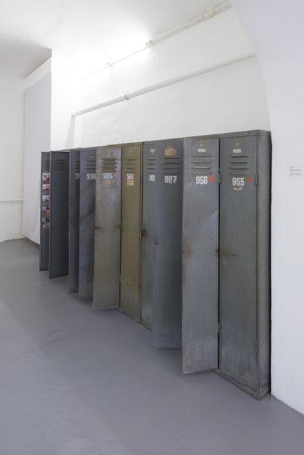 Lenka Klodová, 'Locker Room', 2002